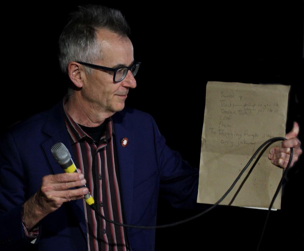 WORD! with John Hegley - Click to enlarge the image set