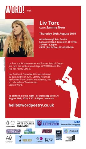 WORD With Liv Torc - Aug 2019